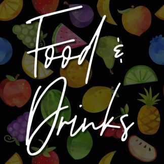 PREORDER - Food & Drinks