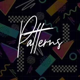 PREORDER - Patterns